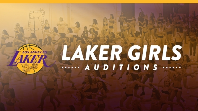 laker girl auditions