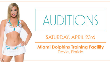 miami dolphins cheerleader auditions 2016