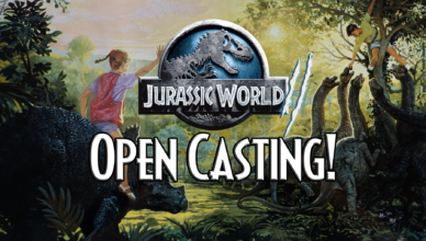 jurassic world 2 casting call