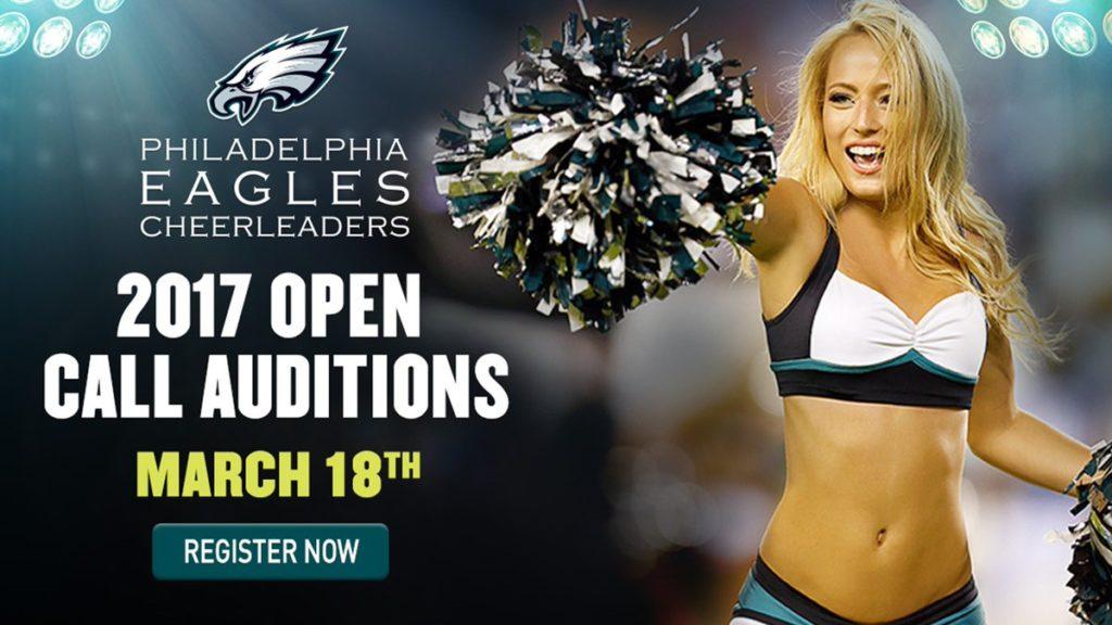 Philadelphia Eagles Cheerleaders 2017 Auditions