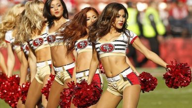san francisco 49ers cheerleader auditions